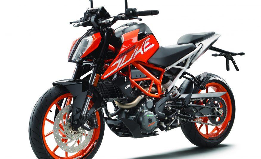 KTM 390 Duke orange 2019