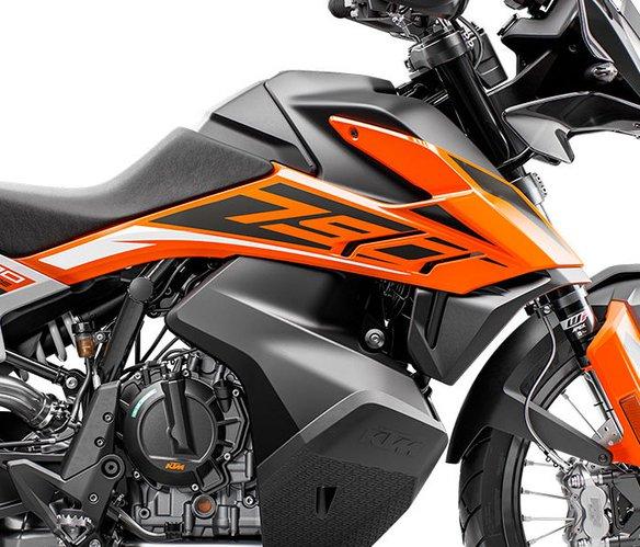 KTM 790 Adventure weiss 2019